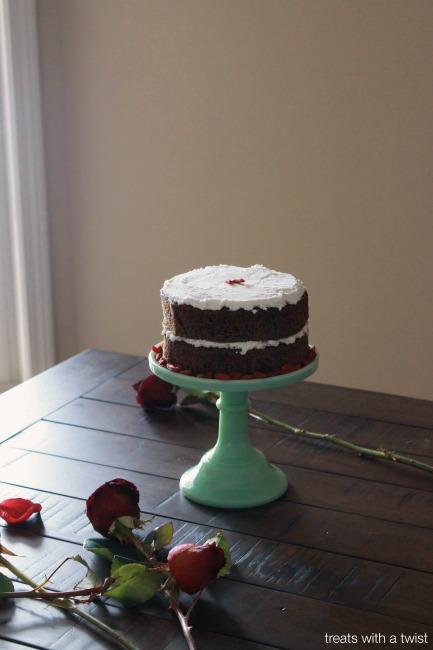 Matcha Goji Cake 1