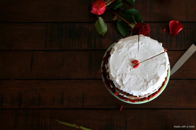 Matcha Goji Cake 4