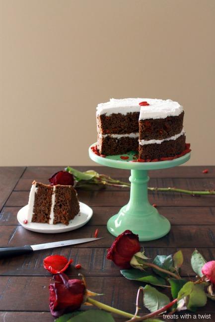Matcha Goji Cake 6