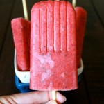 Strawberry Honey Lavender Popsicles // treatswithatwist.com