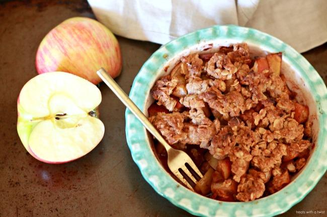 Maple Apple Crisp for Two 3