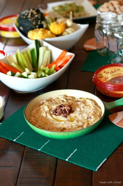 Sabra - Tailgating - Olive Tapanade Hummus Layer Dip 1