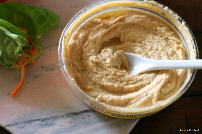 Hummus and Veggie Lettuce Wraps 6