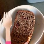 Tahini Chocolate Chunk Banana Bread // gluten free // treatswithatwist.com