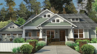 Craftsman Style House Plans with Porches Craftsman House Plans Ranch Style, california craftsman ...