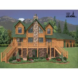 Small Crop Of Golden Eagle Log Homes