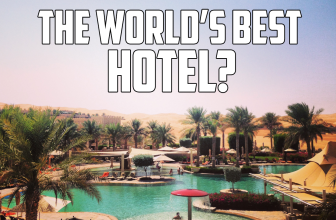 Anantara Qasr Al Sarab – Could this be the best hotel in the world?