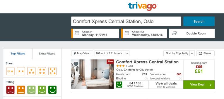 cheap luxury hotel in oslo, norway