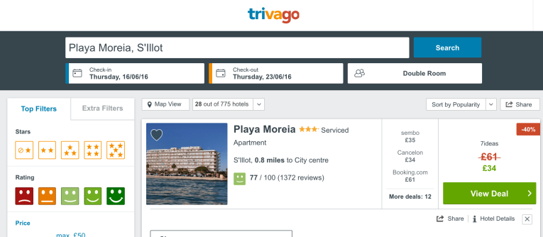 cheap hotel in majorca