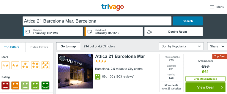 stay cheaply in barcelona