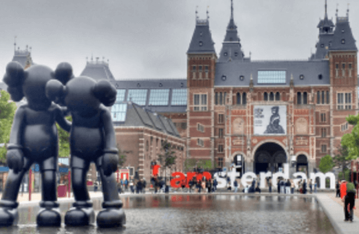 cheap amsterdam city break from Edinburgh