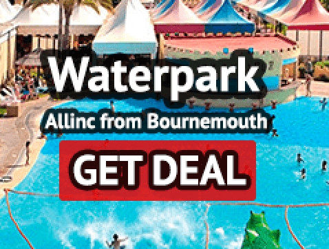 Benidorm allinc waterpark from Bournemouth