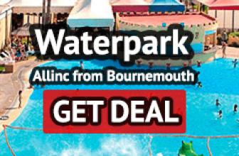Benidorm allinc waterpark from Bournemouth
