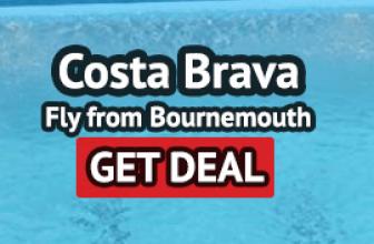 Costa Brava from Bournemouth