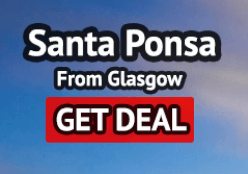 Santa Ponsa holiday from Glasgow