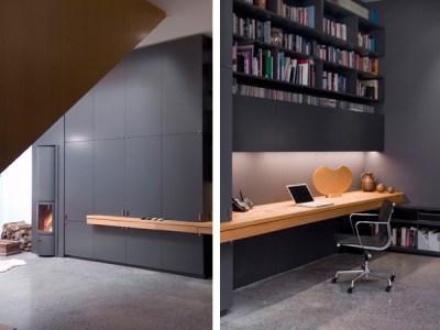 Built-In Home Office Ideas by Paul Raff Studio