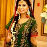 bridal mehndi dresses 1