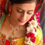 bridal mehndi lehenga and frocks 6