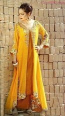 latest mehndi dresses 2013 for pakistani wedding by ethnic couture 17
