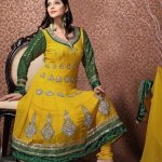 trendy mehndi bridals dress collection 2012 by design3r-8