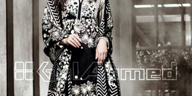 Gul Ahmed Winter Dresses Collection 2015