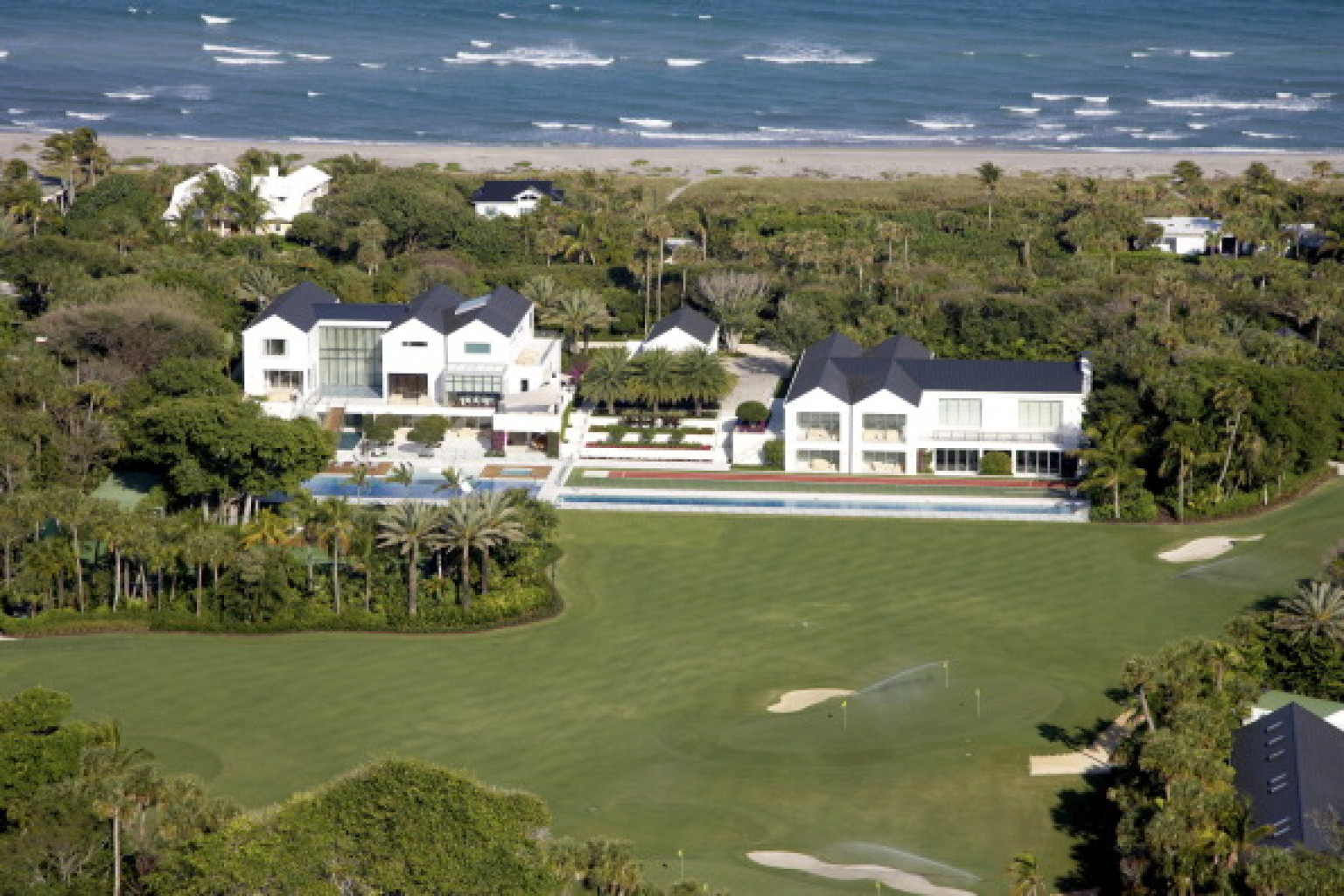Top 5 most expensive celebrity homes Images of tiger woods house