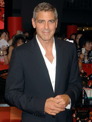 George Clooney in 1997 and 2006