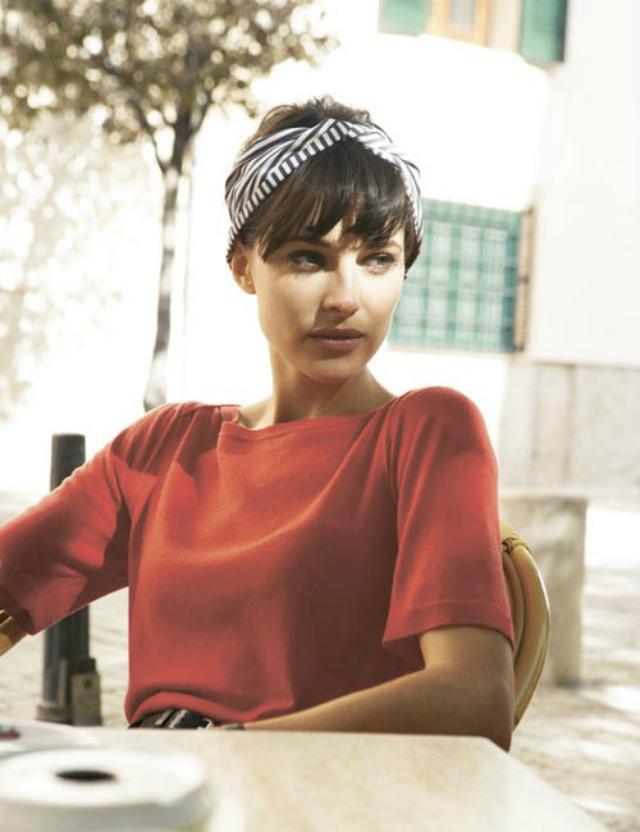 foulard nookandsea-head-wrap-headwrap-head-scarf-fall-stripes-bangs-headband