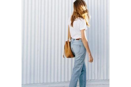 Jean vintage & Tshirt blanc