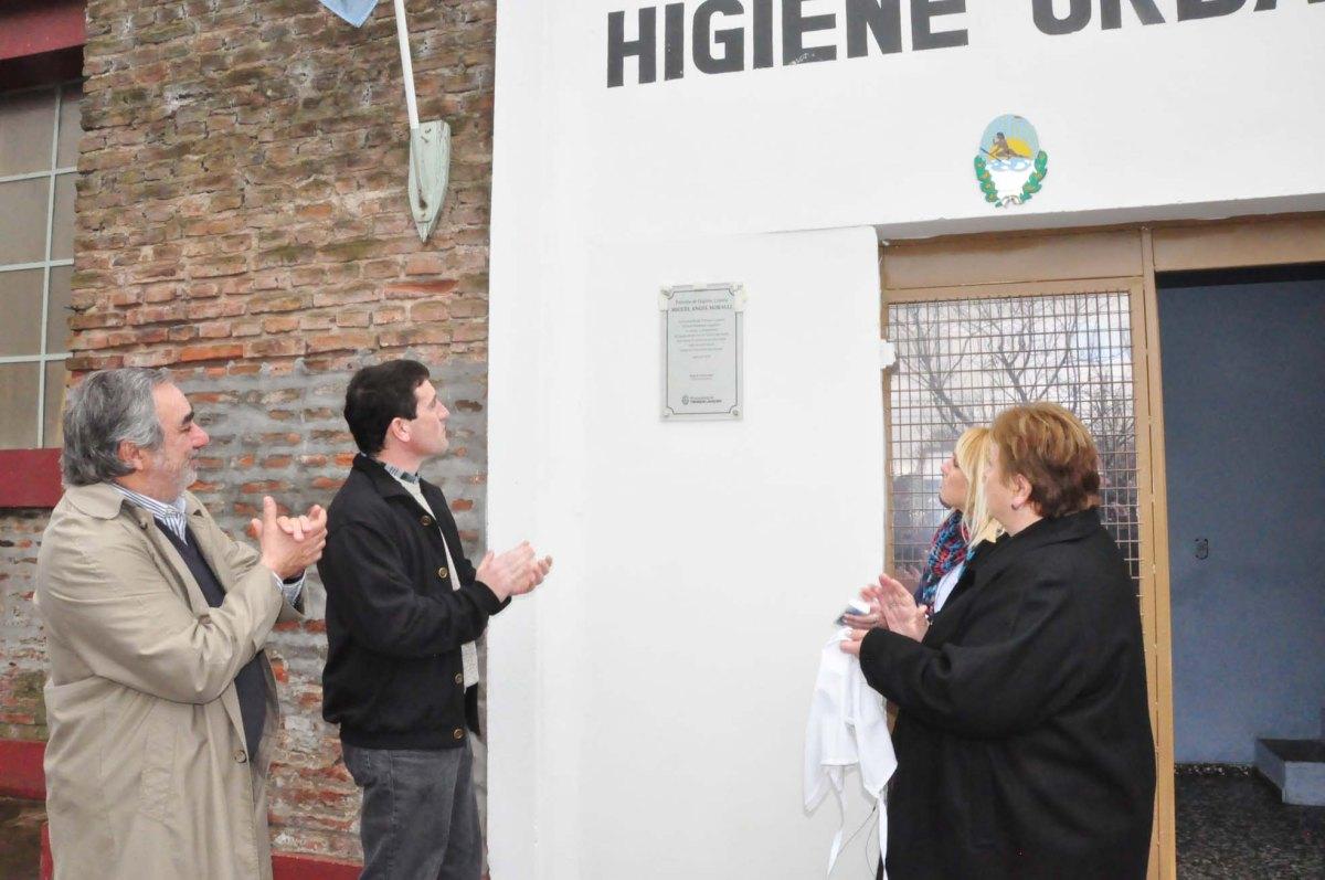 El Municipio homenajeó a Miguel Moralli