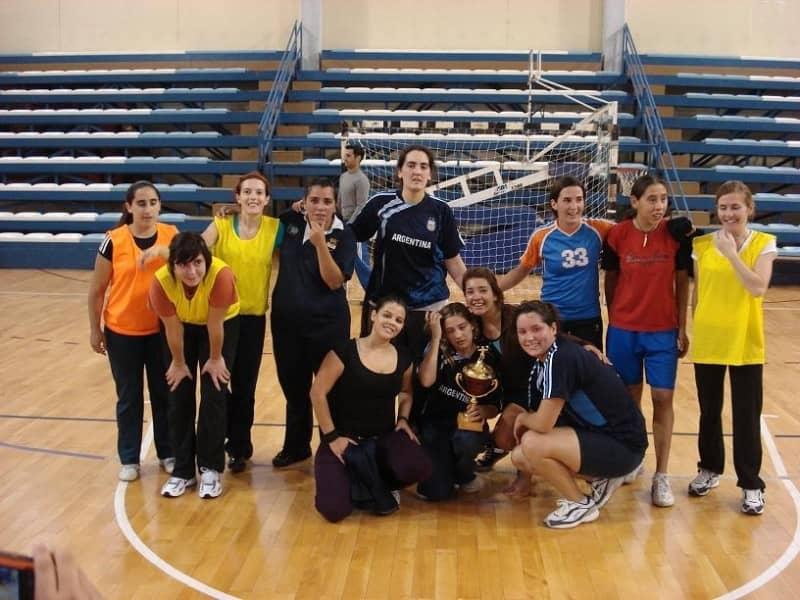 Sarmiento, campeón del torneo municipal de handbol