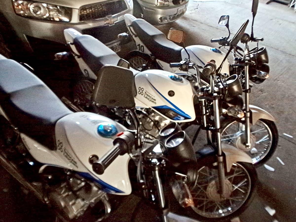El Municipio adquirió 10 motos para Contralor