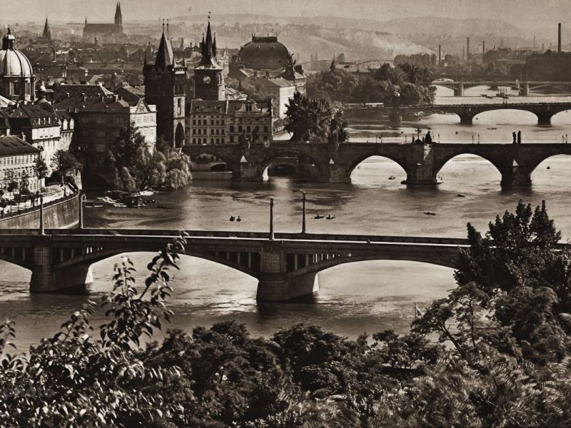 The Bridges Over the Vltava River