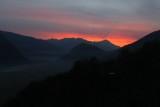 I colori del tramonto, dalla Cima di Vignone.