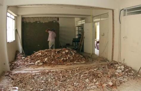Setor destinado a moradia dos cegos passa por reformas para maior conforto aos internos (Fernando Priamo/27-01-16)