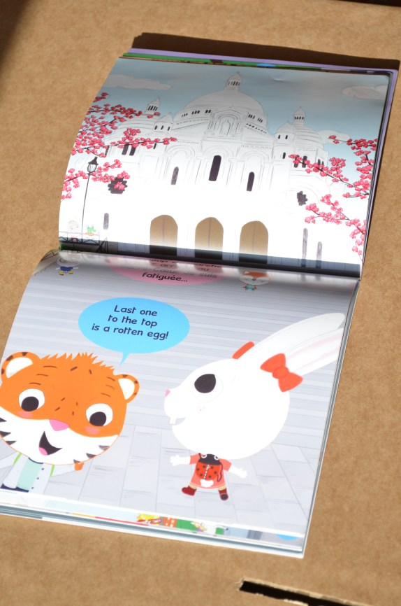 The Zazoo: Let's Discover Paris! (French, English, Spanish) | children's book review on Trilingual Mama