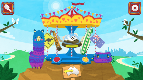 Pacca Alpaca - multilingual app for kids | review on Trilingual Mama