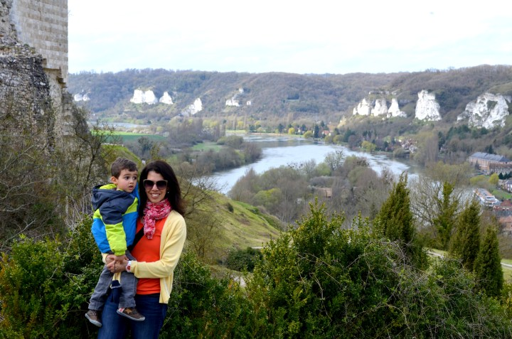 Love where you live | Château Gaillard | Trilingual Mama