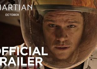 The Martian starring Matt Damon (Official Trailer)
