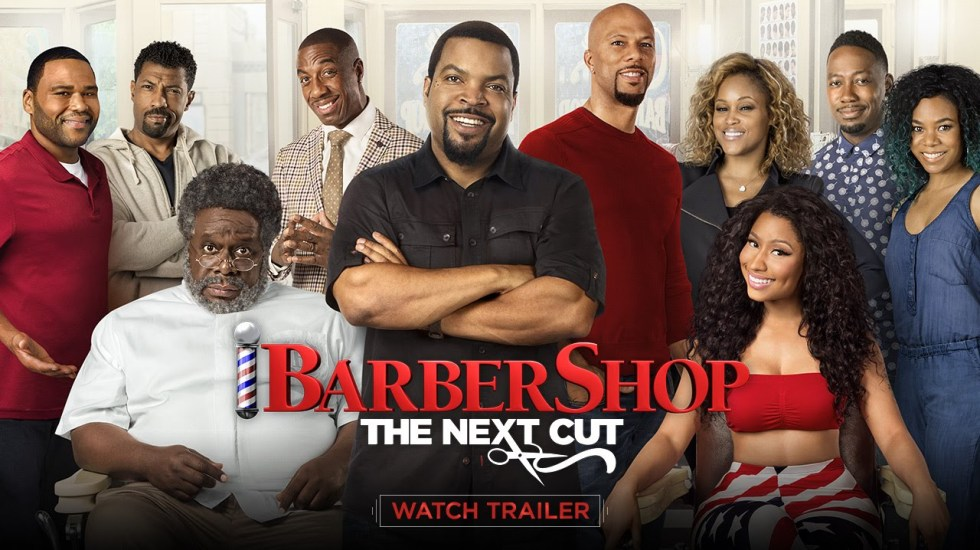 Barbershop: The Next Cut starring Ice Cube & Nicki Minaj
