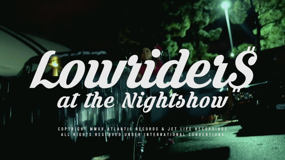 Curren$y – Lowriders At The Nightshow (Video)