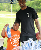 Uncle Bob's Self Storage Teamed up with Houston Texans' Jaelen Strong to Host Youth Football Camp