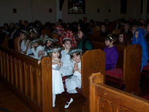 Christmas Pageant angels ...