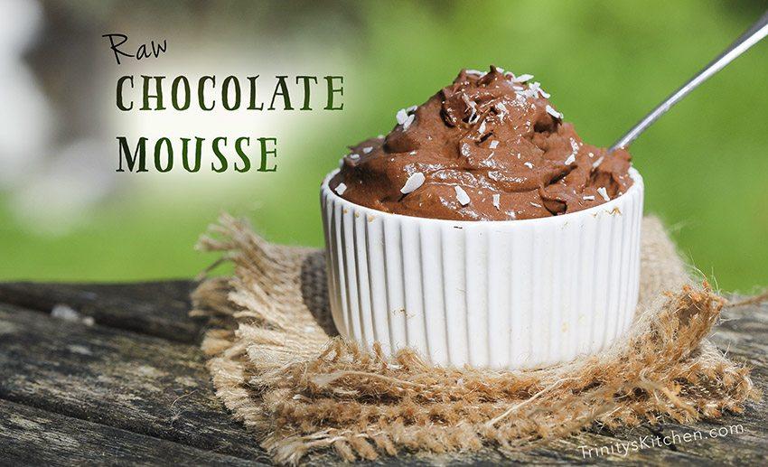 Raw Chocolate Mousse Recipe with Avocado & Banana