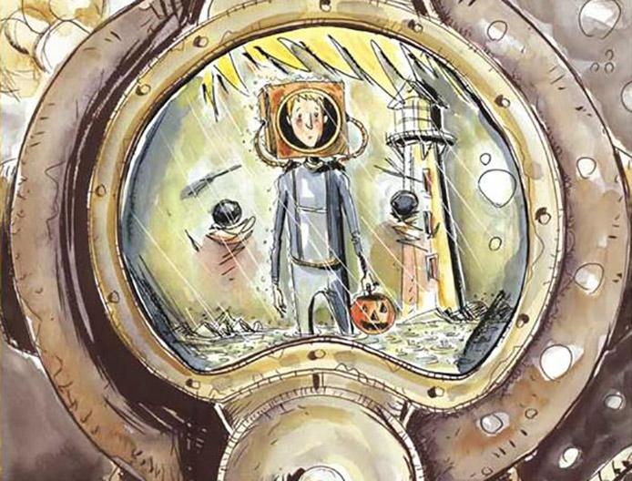 Jeff Lemire's Underwater Welder Comes To Hardcover