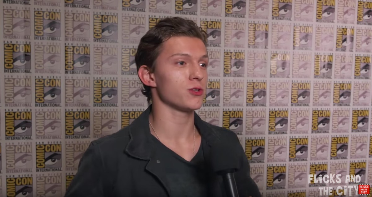 Spider-man Homecoming At San Diego Comic Con