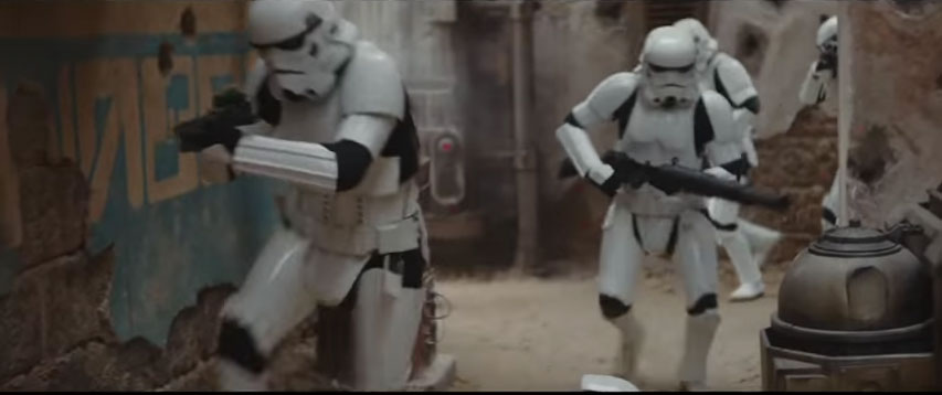 A New Clip From Rogue One: A Star Wars Story Hits
