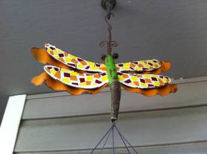 My daughter bought me this dragonfly wind chime.