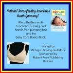 National Breastfeeding Awareness Month #Giveaway #NBAMG @las930 ENDED