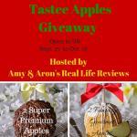 Tastee Apples #Giveaway #GourmetApples #TasteeAppleInc  Ending Oct. 18  ENDED